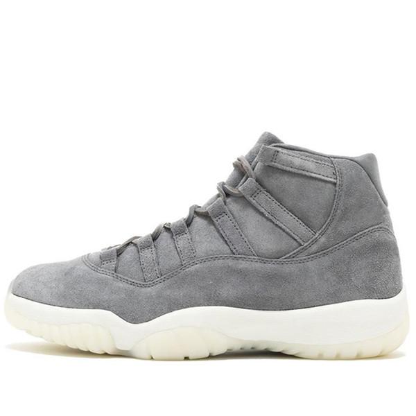 17 Grey Suede