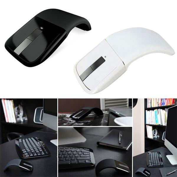 Беспроводная мышь для поверхности дуги 2.4Ghz Складной Touch Mouse Mause Computer Gaming Mice для поверхностного ПК