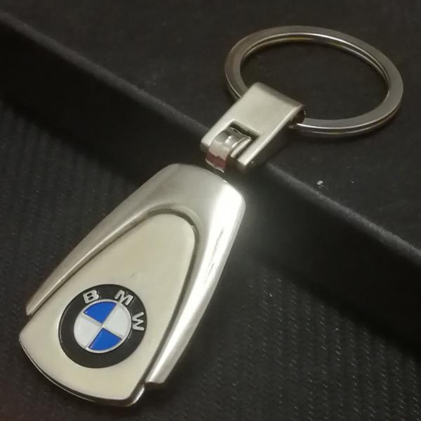 Auto Accessories 3D Metal Key Ring Car Keychain for BMW Honda Toyota Jeep Audi Lexus Ford Subaru Volkswagen Mini Kia Car Key Holder Man Gift
