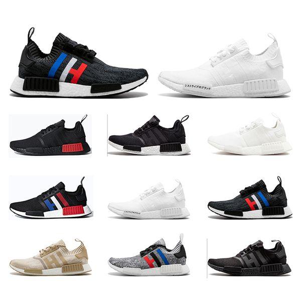 Acheter Adidas Nmd Pour Femmes Hommes Chaussures R1 Japon Blanc Noir Og Clasic Oreo Chaussures De Sport Pour Hommes De Plein Air De $69.36 Du