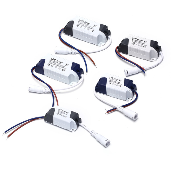 1-3W, 4-7W, 8-12W, 15-18W, 18-24W LED sürücü güç kaynağı dahili sabit akım Aydınlatma 110-265V Çıkış 300mA Trafo