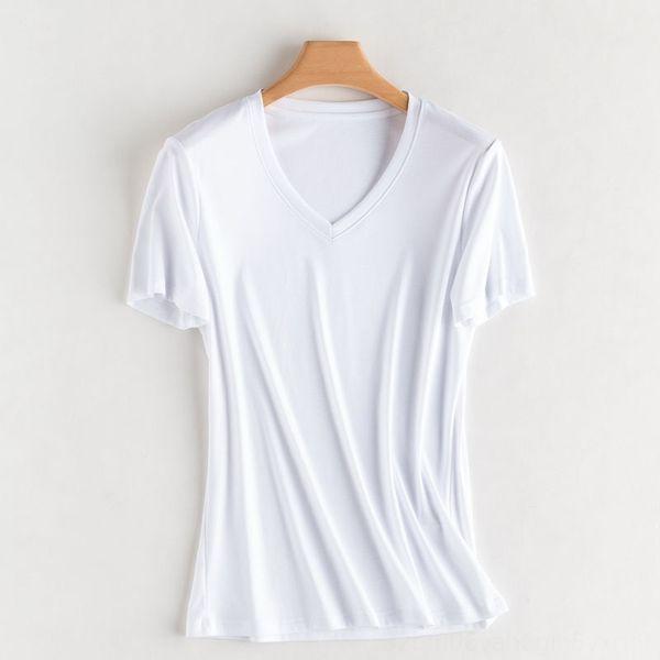 Cuello V blanco