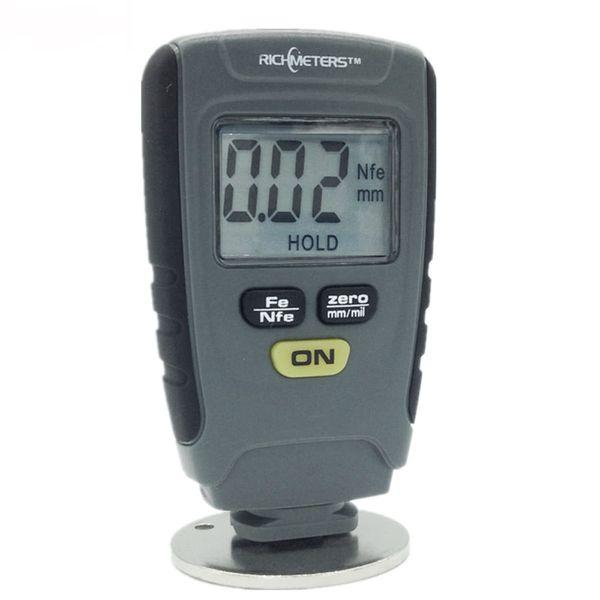 Digital Paint Coating Thickness Gauge Tester Meter for Car Instrument Iron Aluminum Base Metal LCD Display