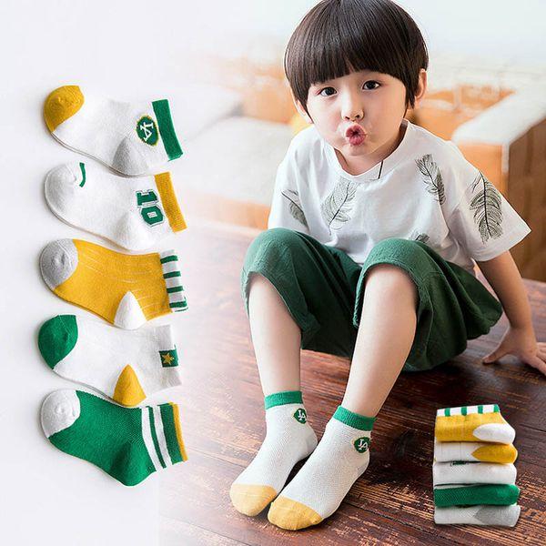 New Spring Summer Children Socks Cartoon cotton Casual Kids Sock boys Ankle Socks Girls Best Sock kids designer clothes A4549