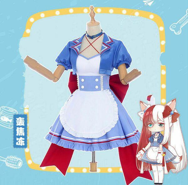 My Hero Academia Todoroki Shoto Bakugou Katsuki Maid Uniform Cosplay Costume Halloween Team Costumes Halloween Costume For 3 People From Dream7