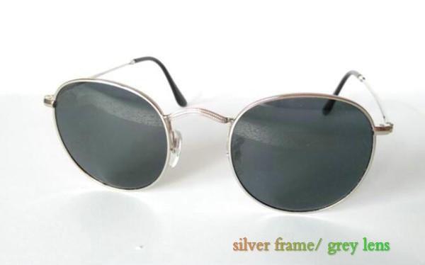 silver frame / grau Objektiv