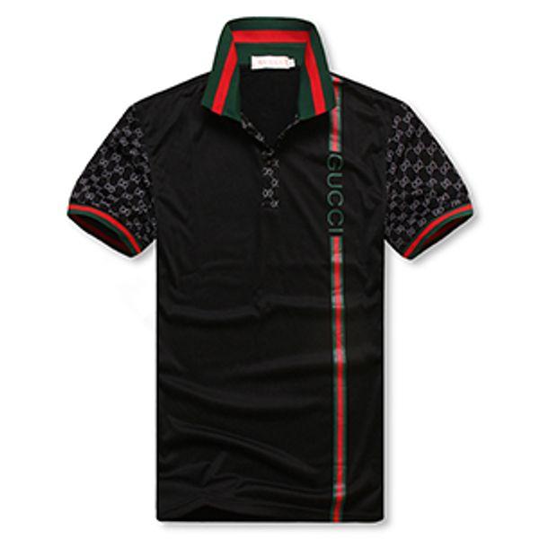 New Men's G***I short sleeves polo shirt 8958 T-shirt Embroidery Polo Shirt For Men Polo Men Cotton Short Sleeve shirt