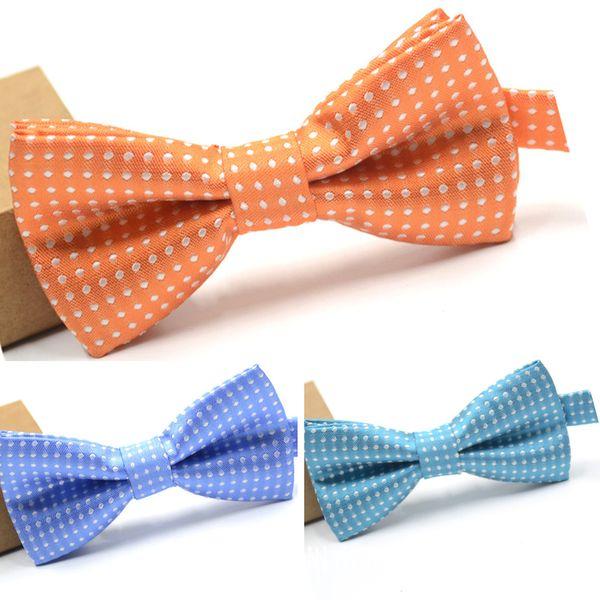 Neue elegante vorgebundene Fliege formelle Smoking Bowtie Set mit verstellbarem Halsband, Geschenkidee für Männer und Jungen