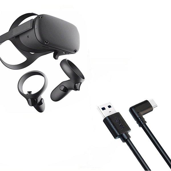 Cheap VR / AR Óculos Acessórios Linha de Dados de Terceiro Cabo de carregamento para Oculus Quest Link VR Headset 3M / 5m Cabo de dados