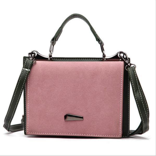 2018 new female autumn and winter new Korean version single-shoulder cross-body bag fashion trend small square bag versatile handbag