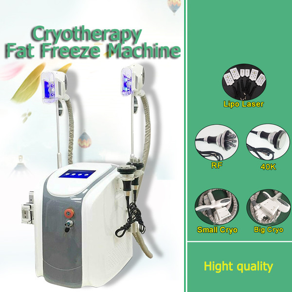 best selling Factory Price !!! Cryolipolysis Fat Freezing Slimming Machine Cryotherapy Ultrasound RF Liposuction Lipo Laser Machine For Salon Use