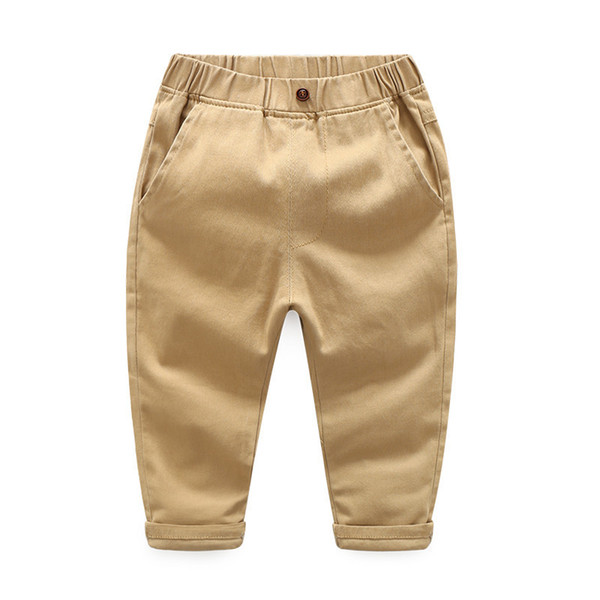 good quality Children boy girl pants Autumn winter warm baby pants 2019 New cotton Outfits Trousers for Spring Autumn boys pants
