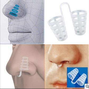 Creative Cutout PE Mini Snoring Stopper Sound Sleep Nasal Splint Snore-ceasing Equipment Anti Snoring Cessation Health Care HA117