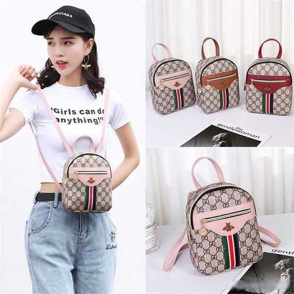 mini zaino 2019 versione di modo di tendenza Designer coreana del nuovo di spalla casuale piccola borsa semplice spalla femminile del sacchetto Messenger bag