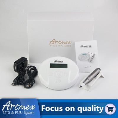 Venta caliente de máquinas de tatuaje - Máquina de tatuaje Artmex V6 / sin equipo para la piel / micro aguja eléctrica, micro rueda de aguja