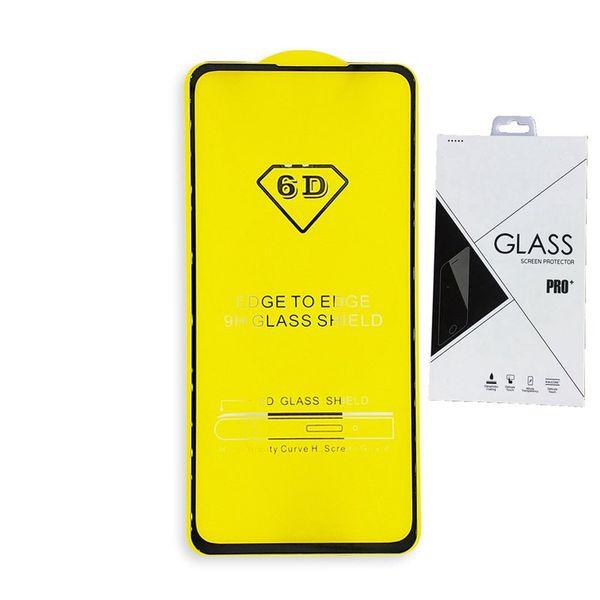 Full Cover 6D 9D Tempered Glass Screen Protector AB Full Glue FOR Samsung Galaxy J7 2018 A8 STAR A9 STAR LITE J4 PLUS J6 PLUS 100PCS Retail