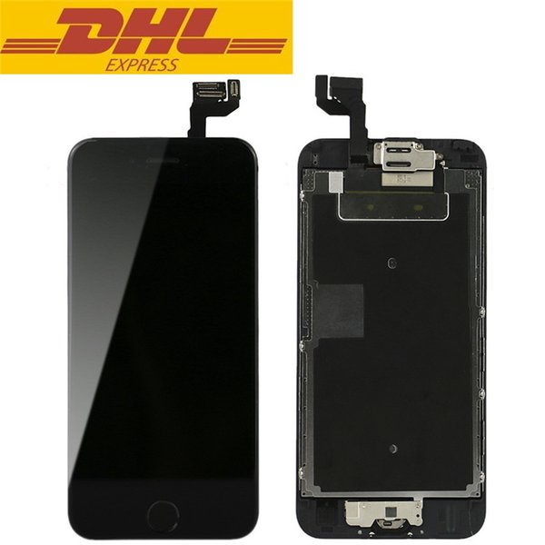 For Iphone 6s LCD Digitizer Touch Screen Display With Front Camera Home Button Assembly Completed Screen Repair Parts DHL Freeshipping