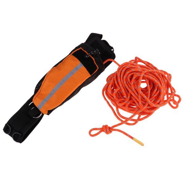 22 mx 8mm Kurtarma Halatı Atmak Çanta Yansıtıcı Atmak Hattı Kayaking Botla için Buz Balıkçılık Su Kurtarılması