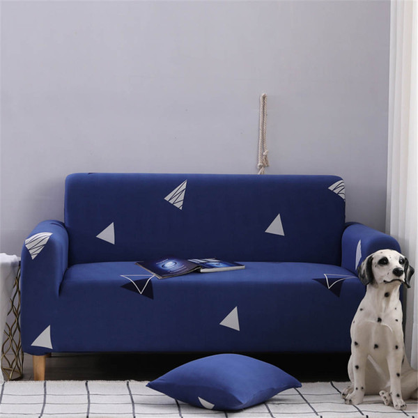 Beautiful Sofa Cover Elastic With Pillowcase Blue Color Corner Sofa Cover  Super Soft Of Home Furniture Protector Dining Chair Covers To Buy  Slipcovers ...