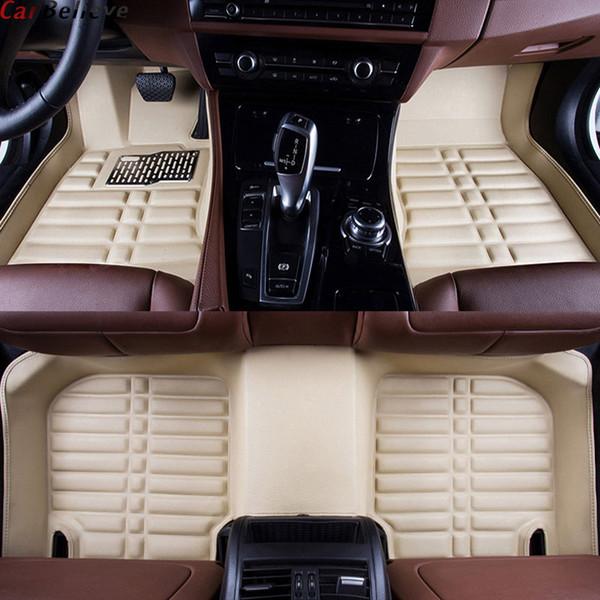 Car Believe car floor Foot mat For ssangyong kyron actyon korando rexton rodius Chairm waterproof accessories carpet