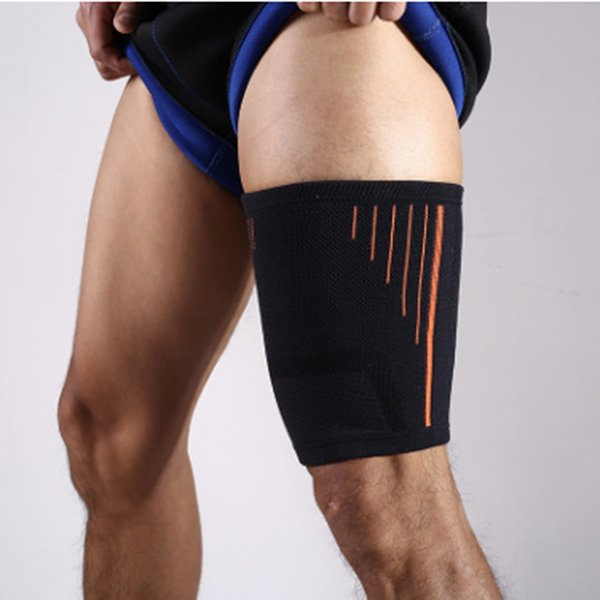 Breathable Knee Support Brace Sports Safety Leg Warmer Thigh Protector Outdoor Fitness Basketball Football Legwarmers
