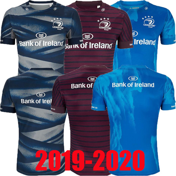 top popular 2019 LEINSTER HOME JERSEY LEINSTER ALTERNATE JERSEY LEINSTER rugby Jerseys Ireland Rugby League shirt jersey size S-3XL 2019