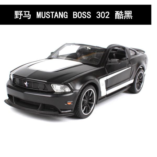 Ford Mustang Boss Black