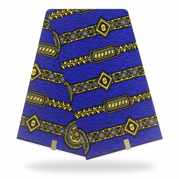 Tessuto africano africano della cera della stoffa Hollandais 6yard Tessuto olandese di alta qualità Hollandais reale olandese di cucito