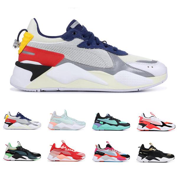 2019 RS-X Brinquedos de Reinvenção Transformadores homens mulheres tênis AZUL ATOLL FÚCSIA ROXO mens formadores moda sports sneakers tamanho 36-45