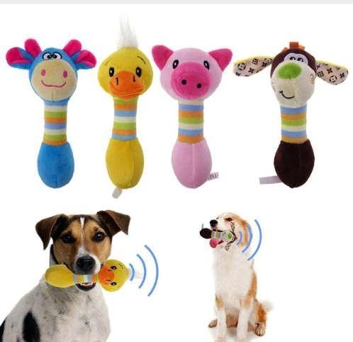 Cute Pet Dog Spielzeug Chew Squeaker Tiere Pet Spielzeug Plüsch Welpen Honking Eichhörnchen Für Hunde Katze Kauen Quietsch Spielzeug