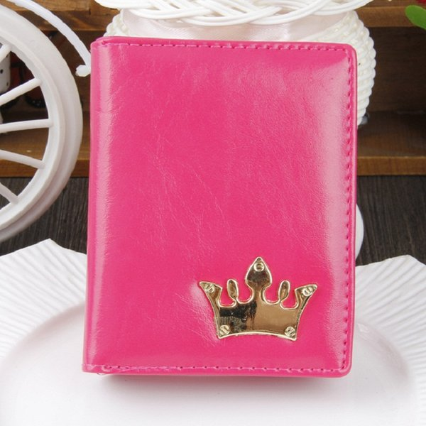 2019 New Women's Wallet Crown Fashion Short Women's wallet Coin wallet Premium PU NQ-044