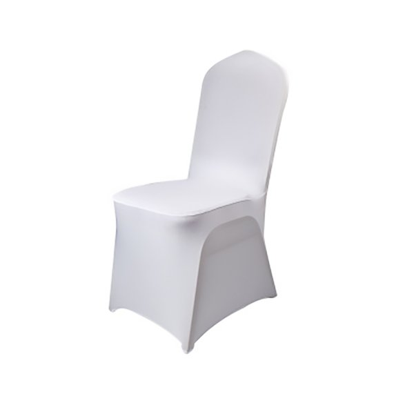 Chair Covers Polyester Spandex Stretch Slipcovers for Wedding Party Set of 4 Dining Banquet Chair Decoration Covers