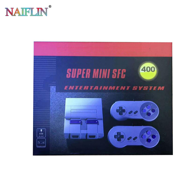 top popular Mini Game Console can store 400 Video Handheld for SNES and nes games consoles with retail box FREE SHIPPING hot sale. 2019