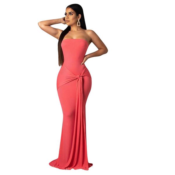 Compre Gran Modelo Runway Backless Vestido Elegante Noche Del Renacimiento Vestido Maxi Largo Mujeres De Gran Tamaño Vestidos De Verano Ropa De Talla