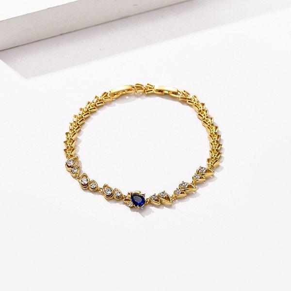 Gold Blue 20cm