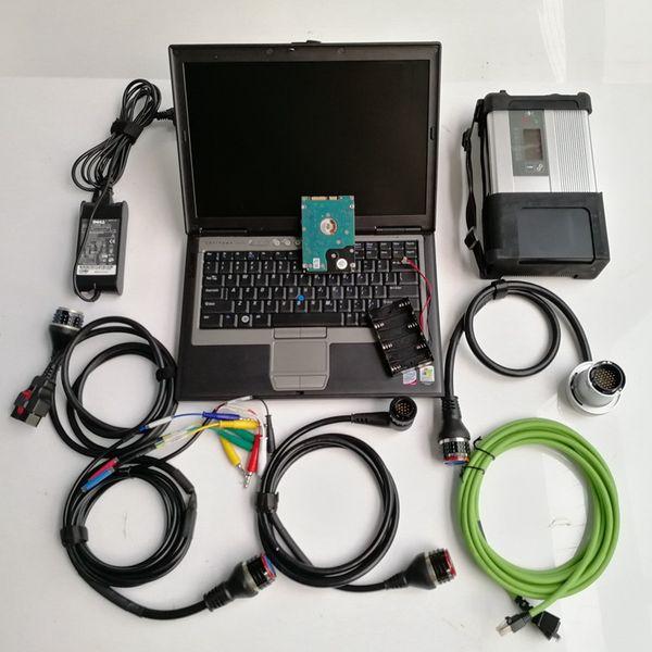mb star c5+HDD+d630 laptop