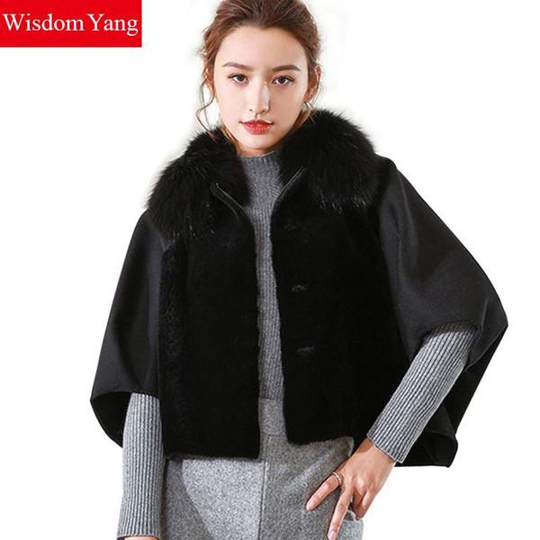 Cape en laine rouge chaud manteau femme hiver Manteaux veste, veste cape oversized, Cape laine, Cape rouge