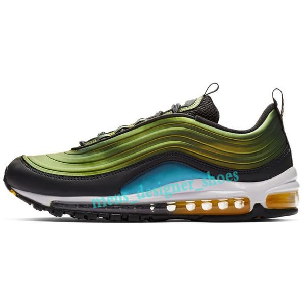 Acheter Nike Air Max 97 Pour La Chaussure De Chaussures, EMS DHL Frais D'expédition Supplémentaires Respirant Et Confortable Hommes Chaussures Baskets