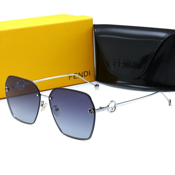 2019 Moda kadın güneş gözlüğü çift polarize gözlük tasarımcısı yüksek kaliteli kurbağa şekli Shades ile gözlük Moda Aksesuarl ...