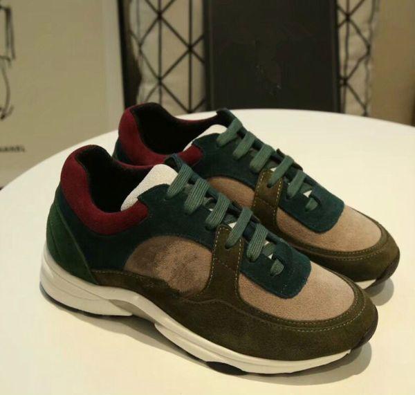 Los hombres de tela Stretch Jersey Sorrento Slip-on Sneaker Designer Lady Two-tone goma Micro suela transpirable zapatos casuales zh18960307