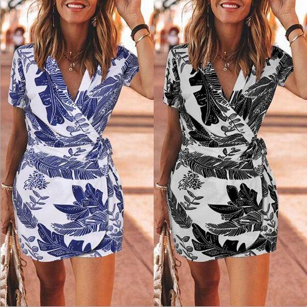 Verão Mulheres Casual Senhoras vestido Saia Lady França Suit wrap saia Dresse Roupa impresso saia Outfit Meninas mais roupa de tamanho XL XZ052