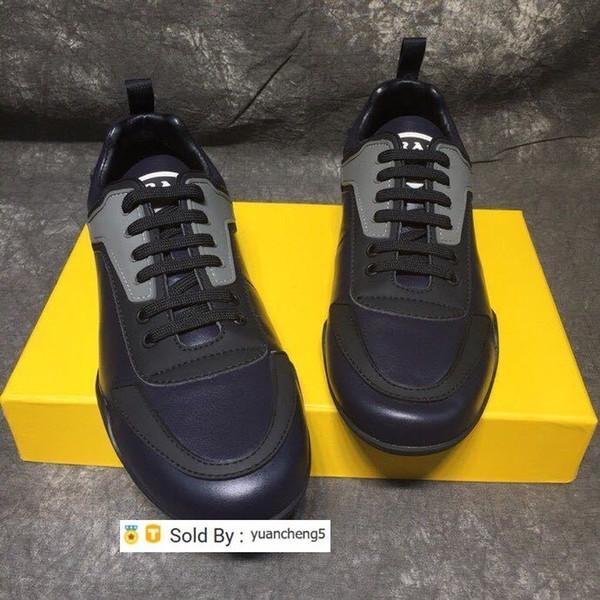 yuancheng5 Kaymaz giyilebilir rahat ayakkabı 210501 Erkekler Elbise Ayakkabı Makosenler Loafers Dantel Ups Monk sapanlar Çizme Sürücüler Gerçek deri Sneakers