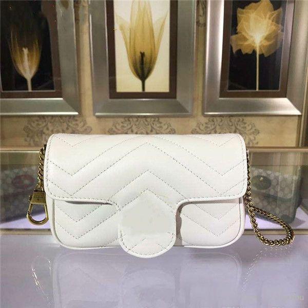 top popular Wholesale Brand Square Bag Trend Leather Peach Heart Fashion Plaid Striped Shoulder Bags Chain Bag Sheepskin Messenger Bag 2019