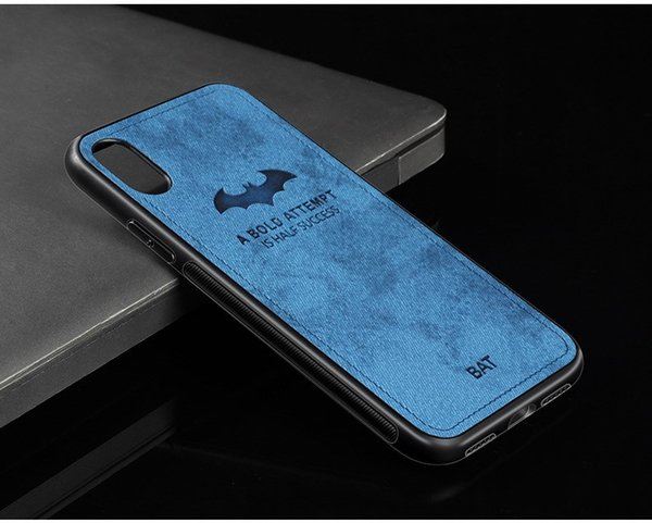 Hot! mobile phone case fabric creative shatter-resistant anti-sweat ultra-thin protective cover for iphone XS XR 8 7 6 free shipping