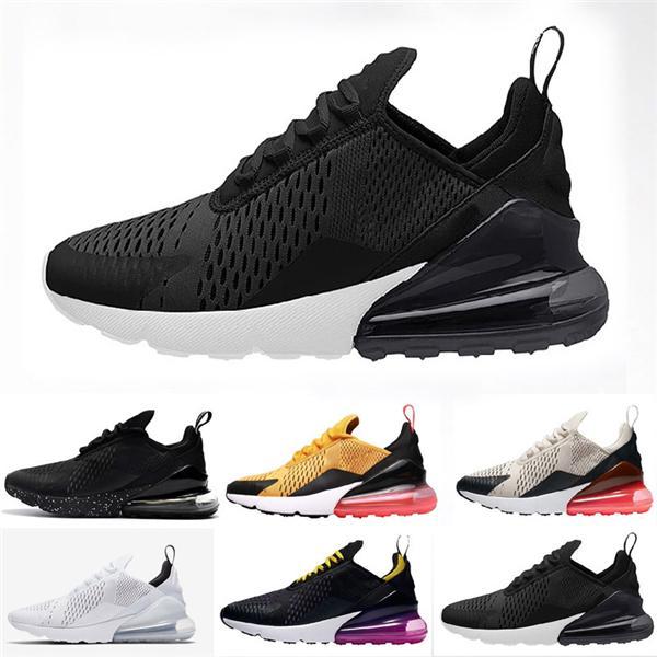 Acheter Nike Air Max 270 Regency Purple Hommes Femmes Triple Noir Blanc Presto Tiger Training Designer TN Plus Chaussures De Plein Air Baskets De