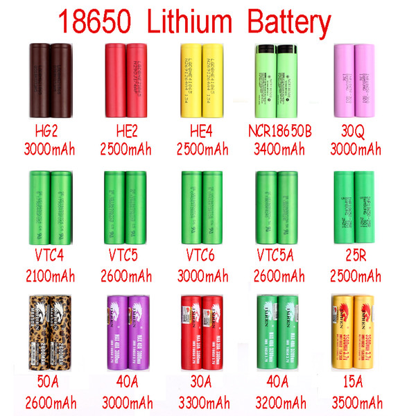 top popular NEW Charger Power New Arrival IMR 18650 Battery 2100mah-3500mah for Mix brand leopard print MAX50A by Fedex 2021