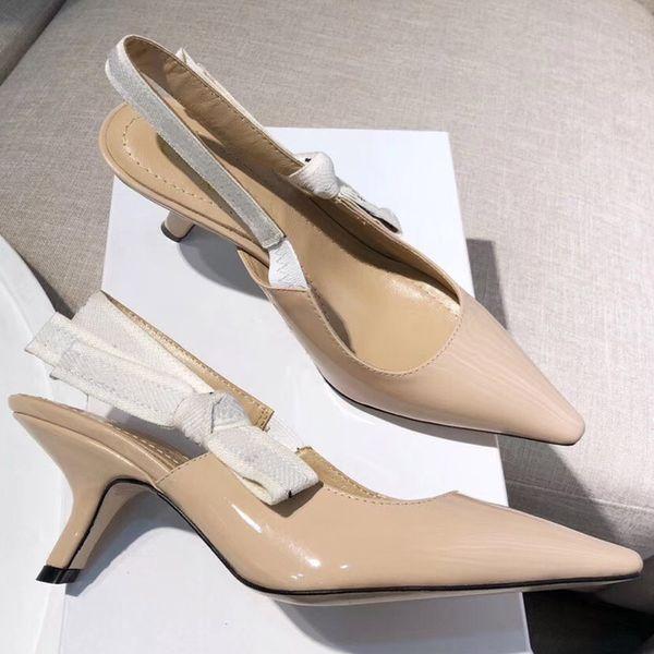 Designer donna tacchi alti festa moda ragazze sexy scarpe a punta Danza scarpe da sposa sandali donna shoes41
