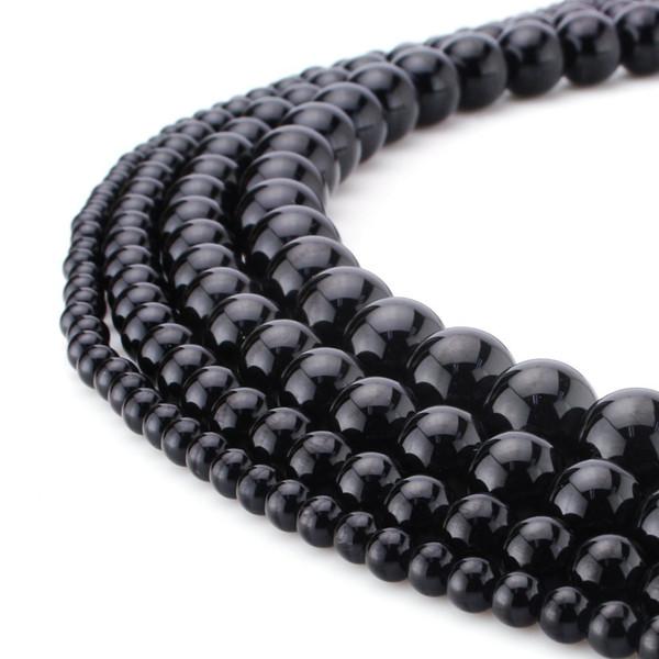 e587d4935 christmas holiday earrings Coupons - Natural Stone Beads Black Lava Black  Stripe Agate Labradorite Obsidian Gemstone