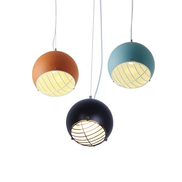 Modern Baseball Pendant Light Hanging Contemporary Pendant Lamp Creative Ball Pendant Lighting Fixture For Home Restaurant Kitchen Island Lighting