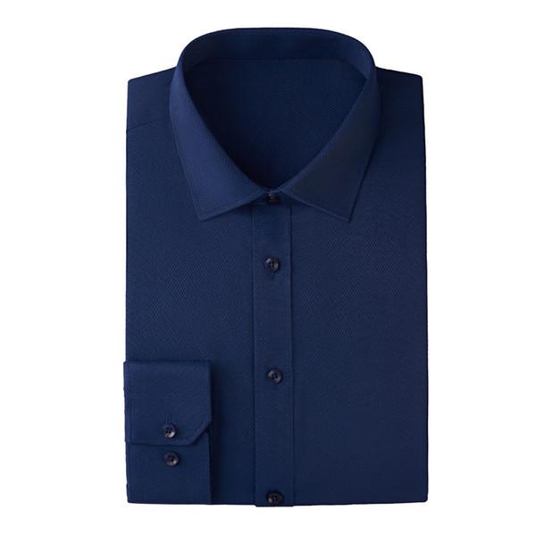 2019 New Men Dress Business Shirts Mens Long Sleeve Shirt ,Colors:White,Burgundy,Light Blue,Dark Blue,Black,Pink,Size:S~6XL
